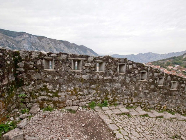 Kotor battlement