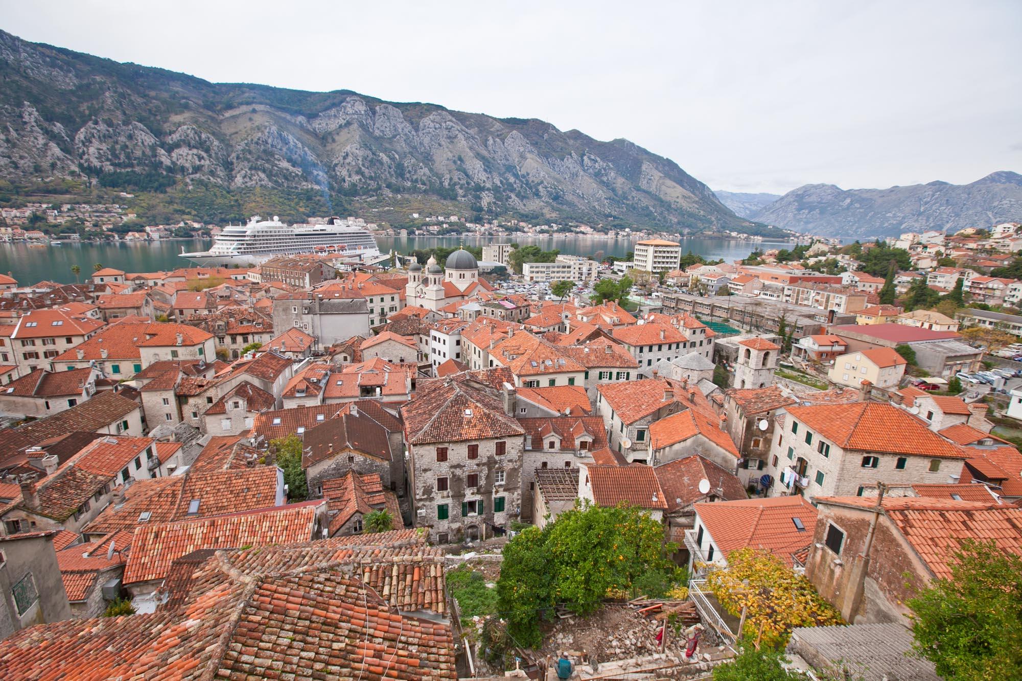 Kotor cityscape