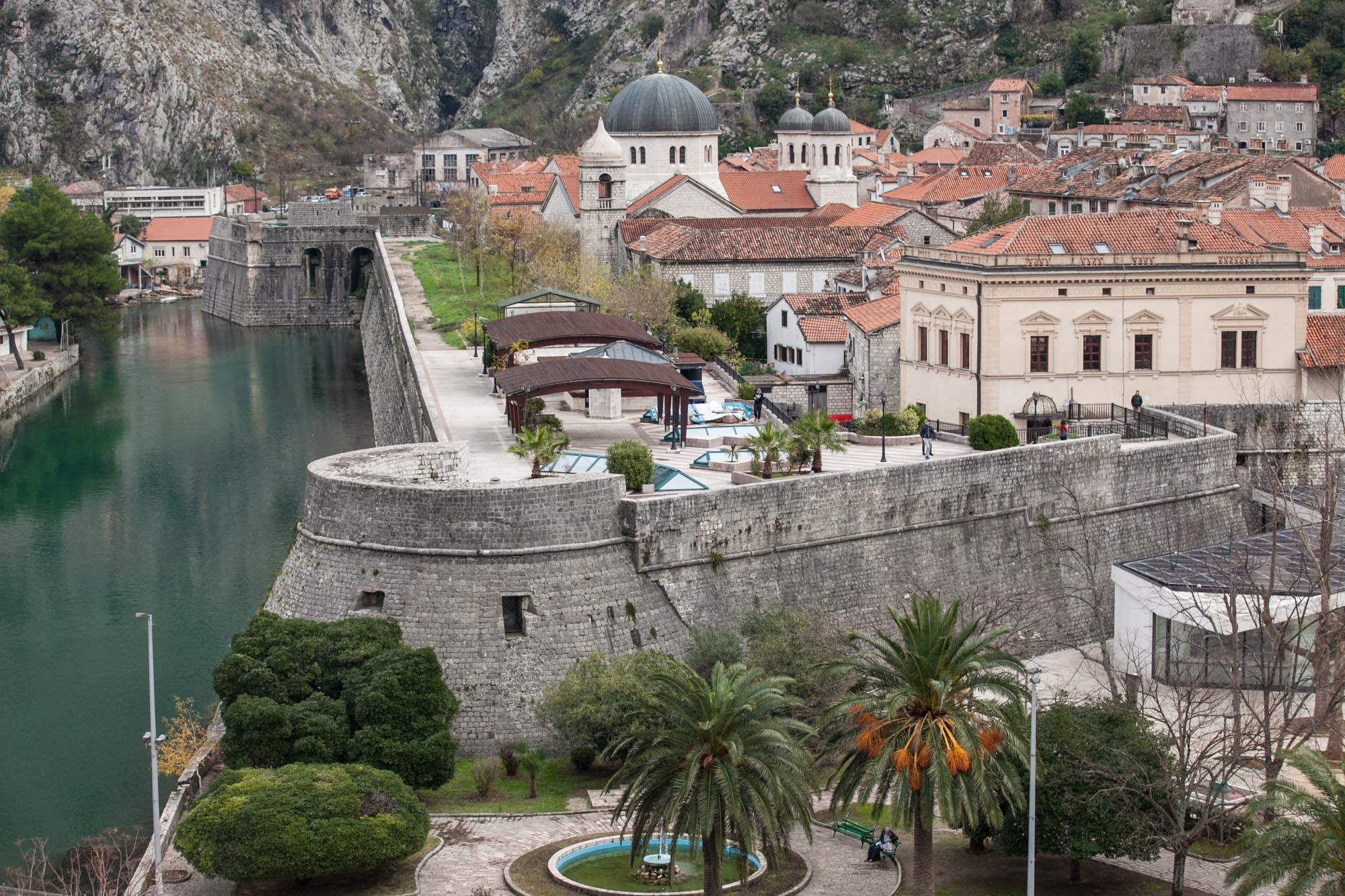 Kotor port closeup