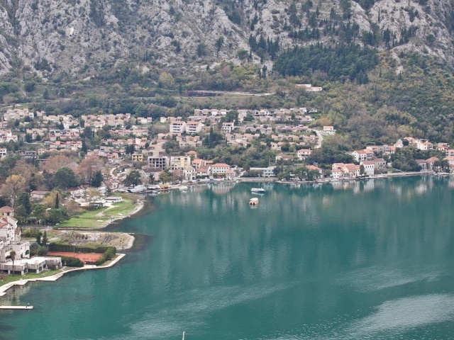Kotor shoreline