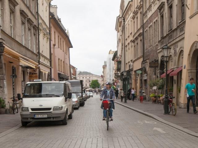 Krakow side street