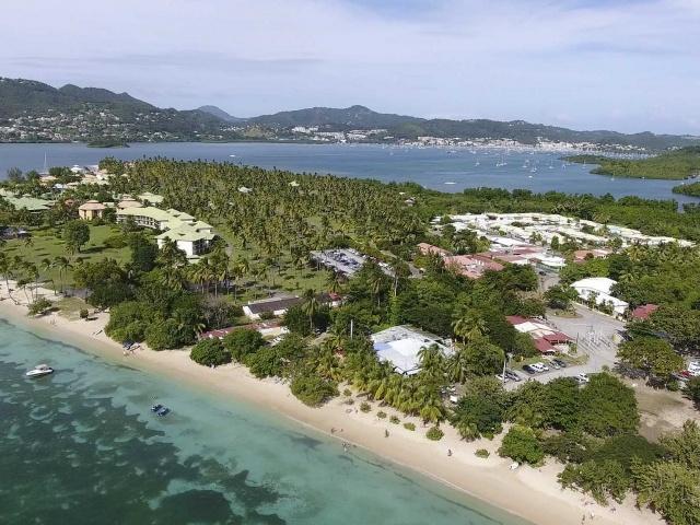 Le Marin beachfront, Martinique