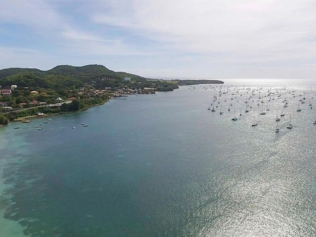 Le Marin drone footage
