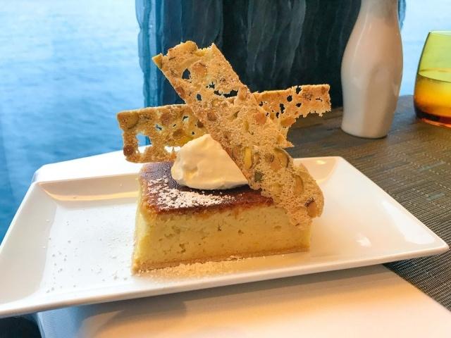 Lemon tarte at Canaletto