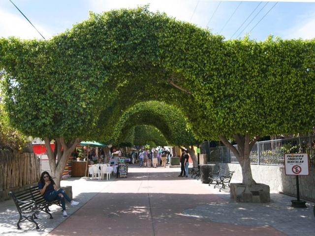 Loreto main walkway