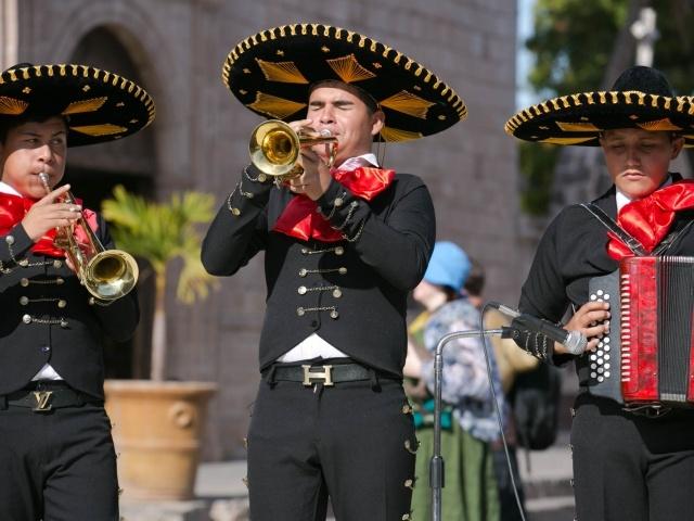Mariachi trumpeter