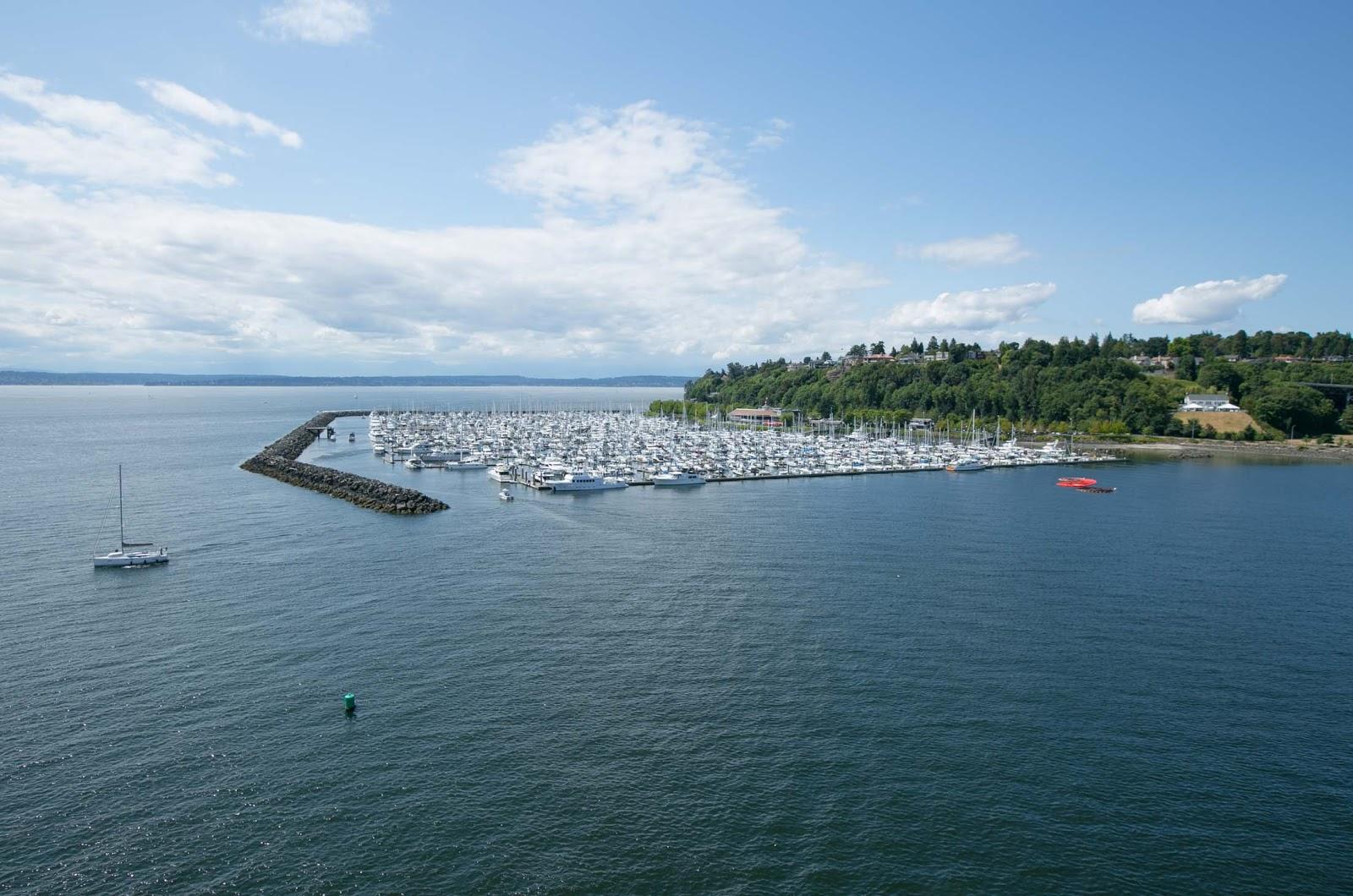 Marina in Seattle's Elliott Bay