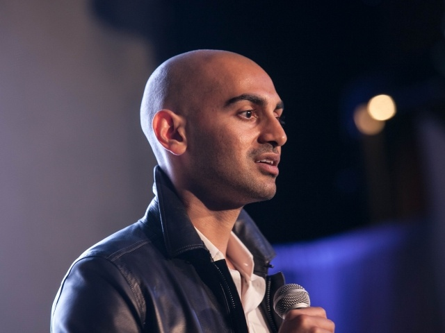 Neil Patel at Traction conference