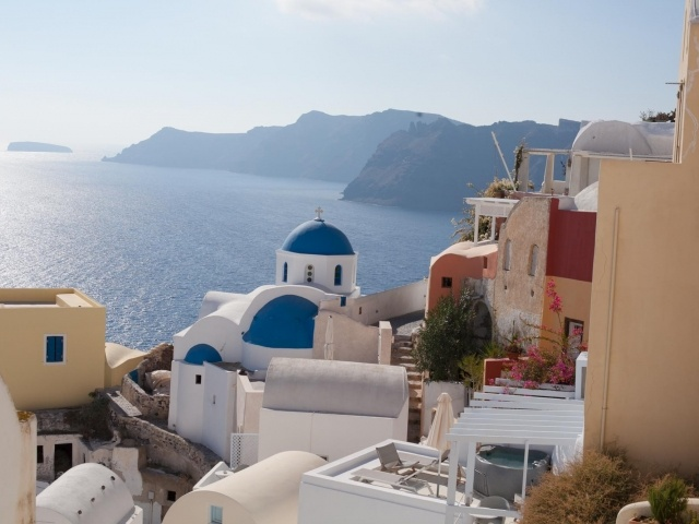 Oia rooftops