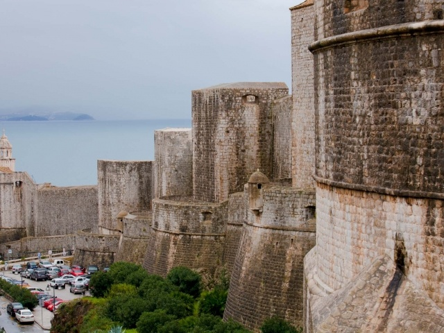 Old Dubrovnik battlements