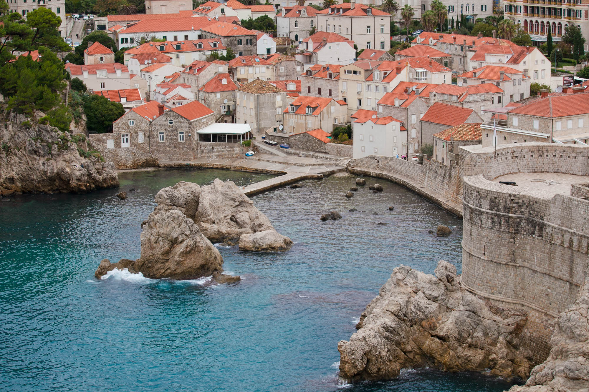 Old Dubrovnik waterfront