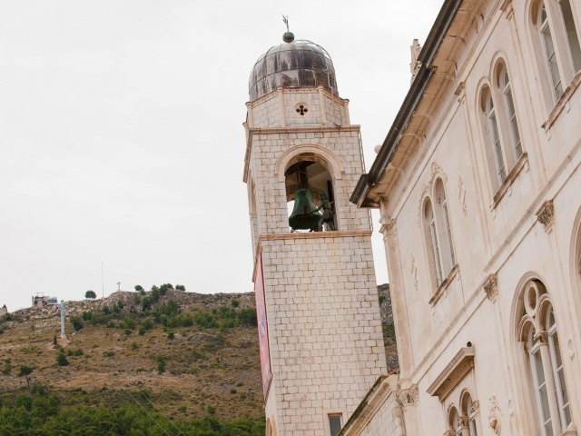 Old Dubrovnik bell tower