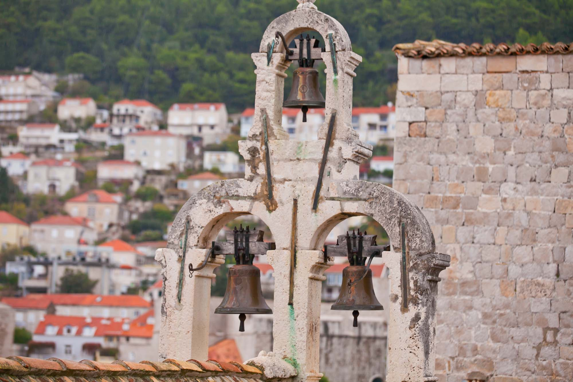 Old Dubrovnik bells closeup