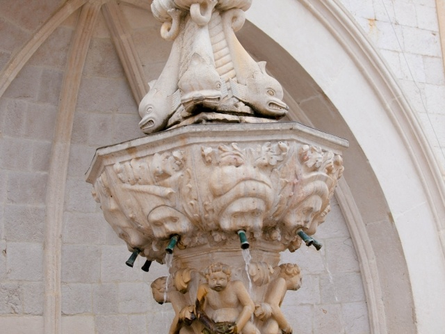 Old Dubrovnik fountain
