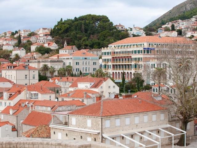 Old Dubrovnik landscape