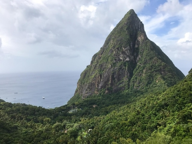 Petit Piton in St. Lucia