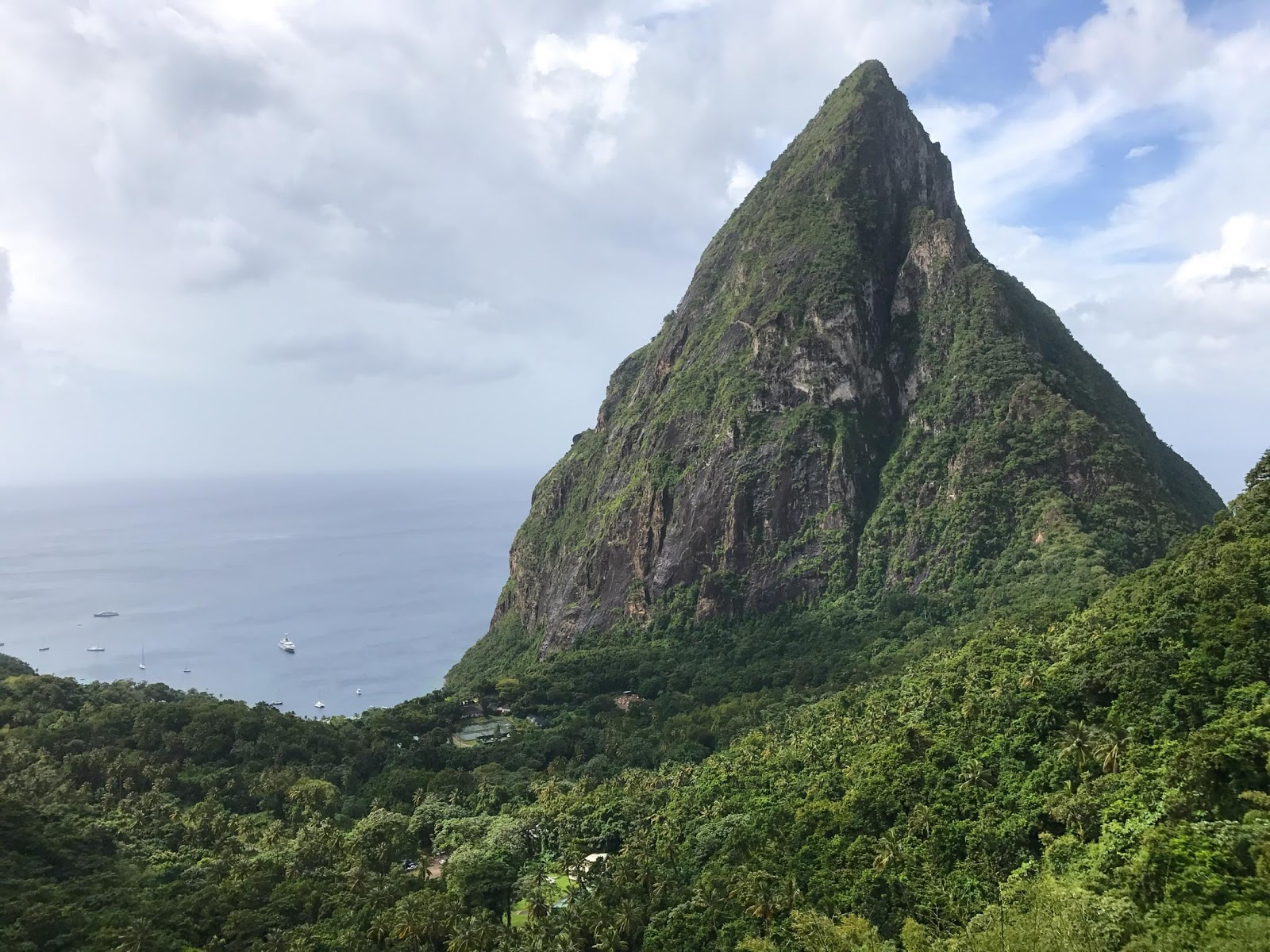 Petit Piton in St. Lucia