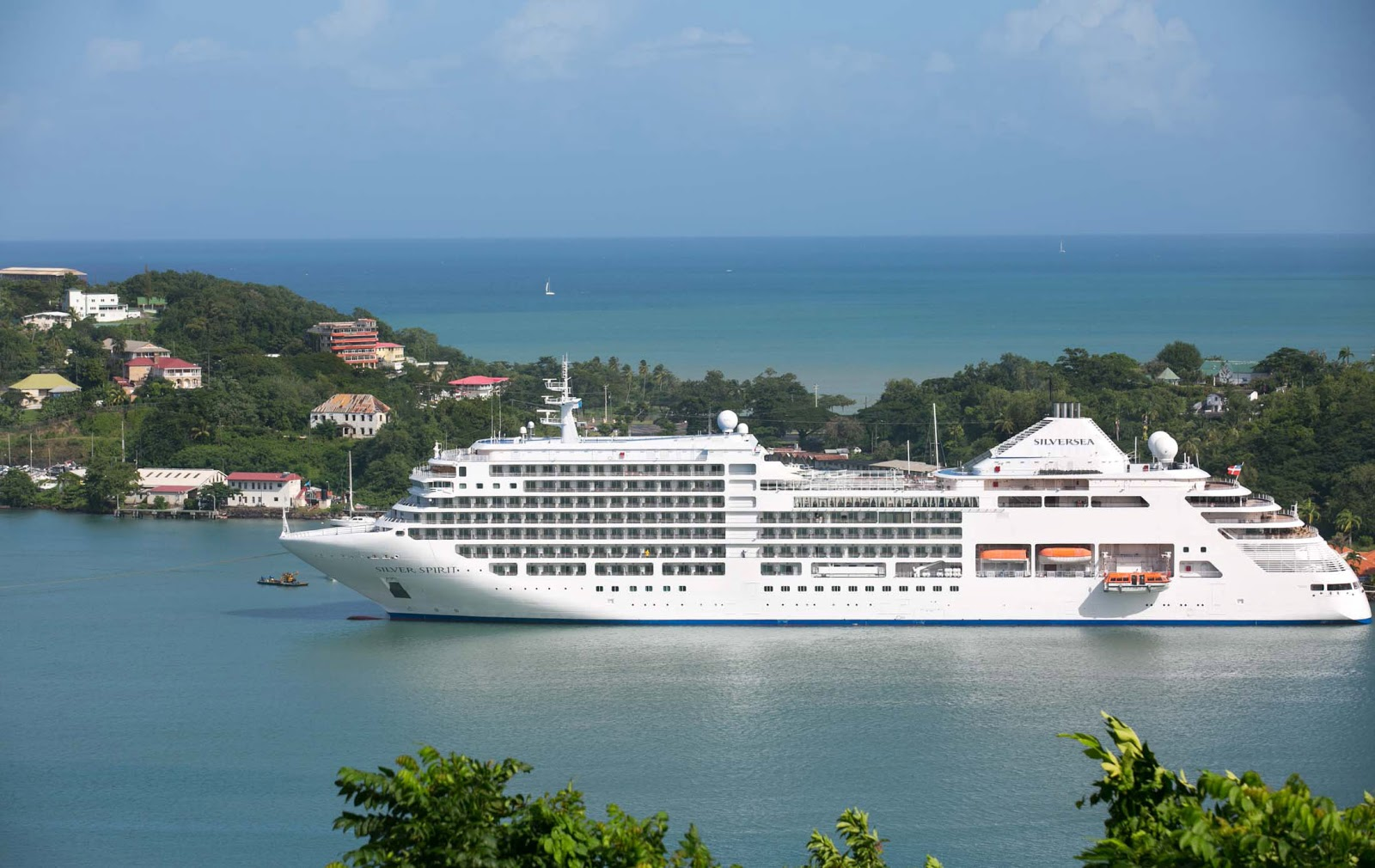 Silver Spirit in St. Lucia