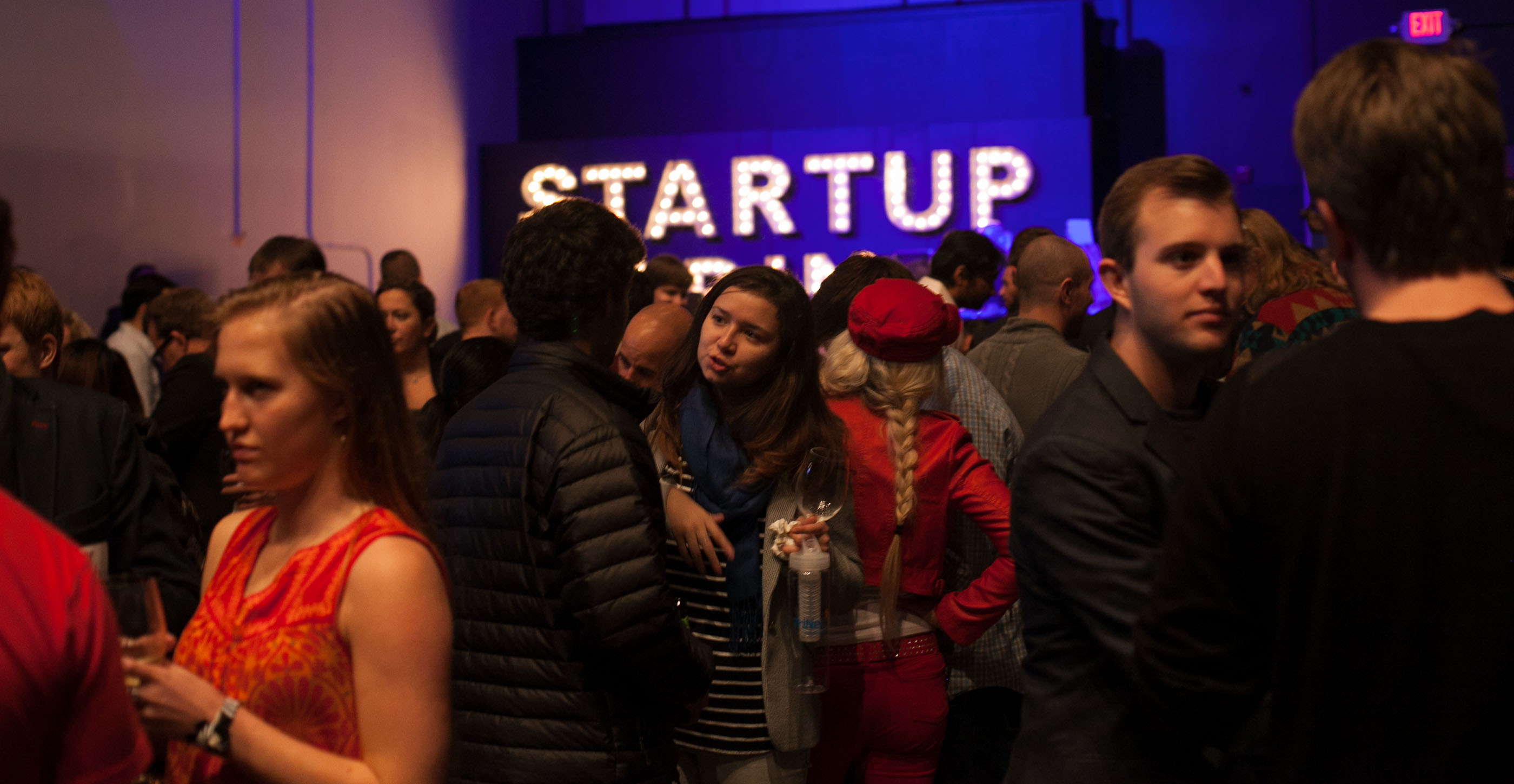 Startup Grind after-party, Fox Forum