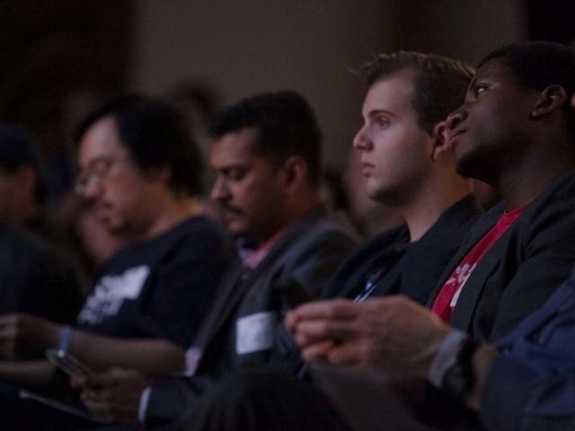 Startup Grind attendees