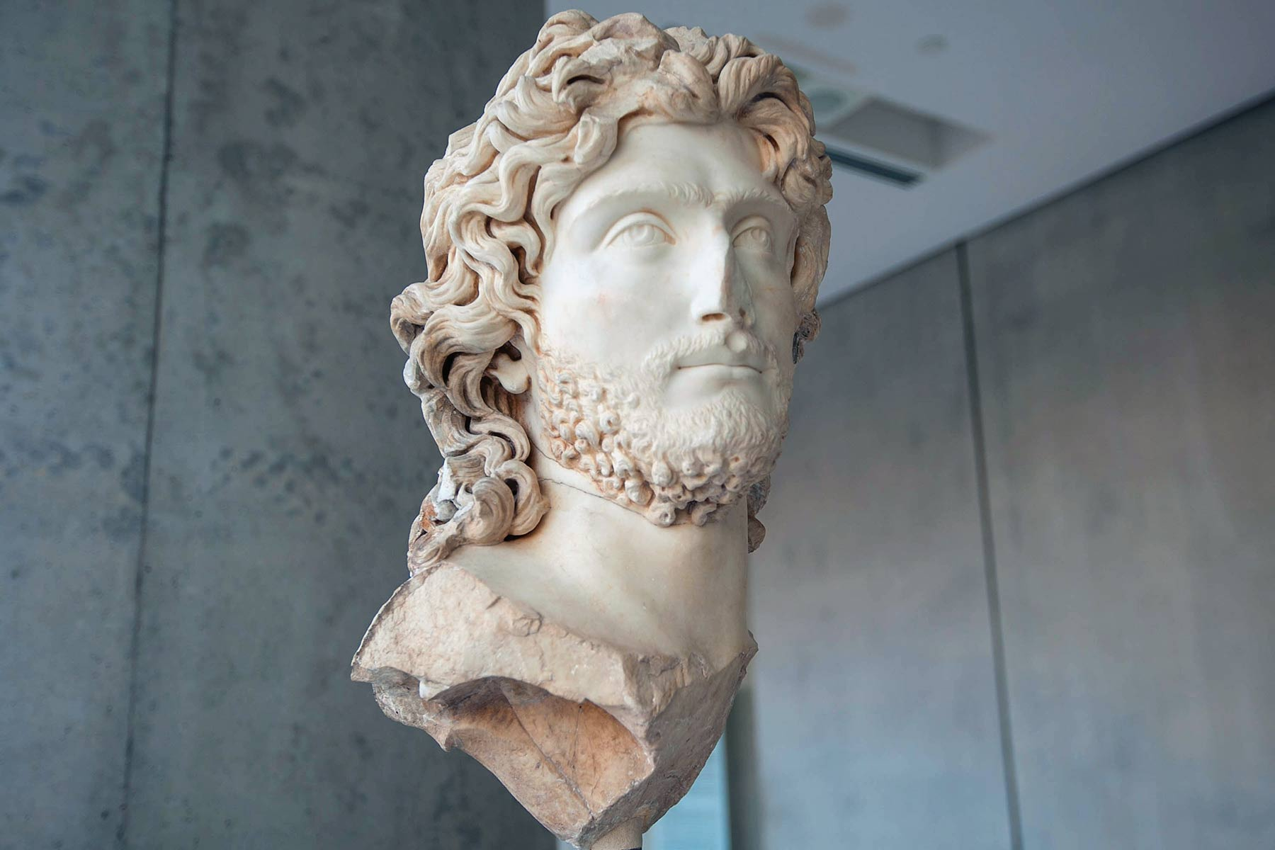 Bust in Archaeological Museum in Athens