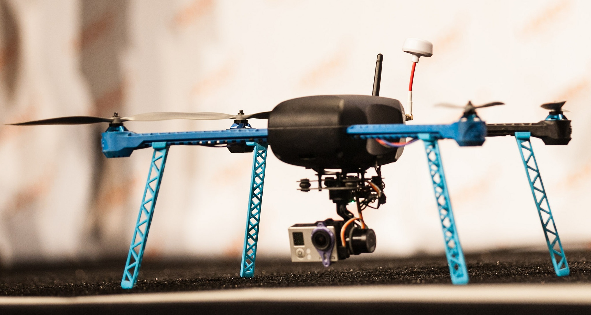 The Iris multicopter from 3D Robotics at Launch 2014