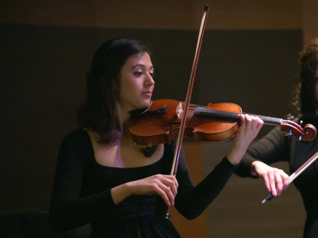Violinist with Lincoln Center Stage