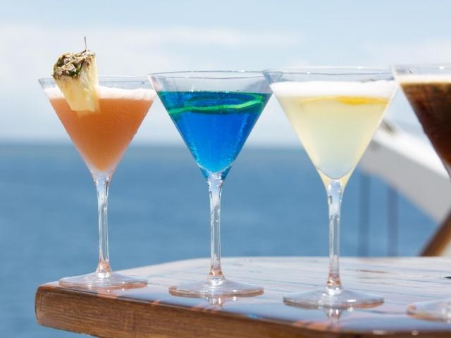 Wind Surf cocktails