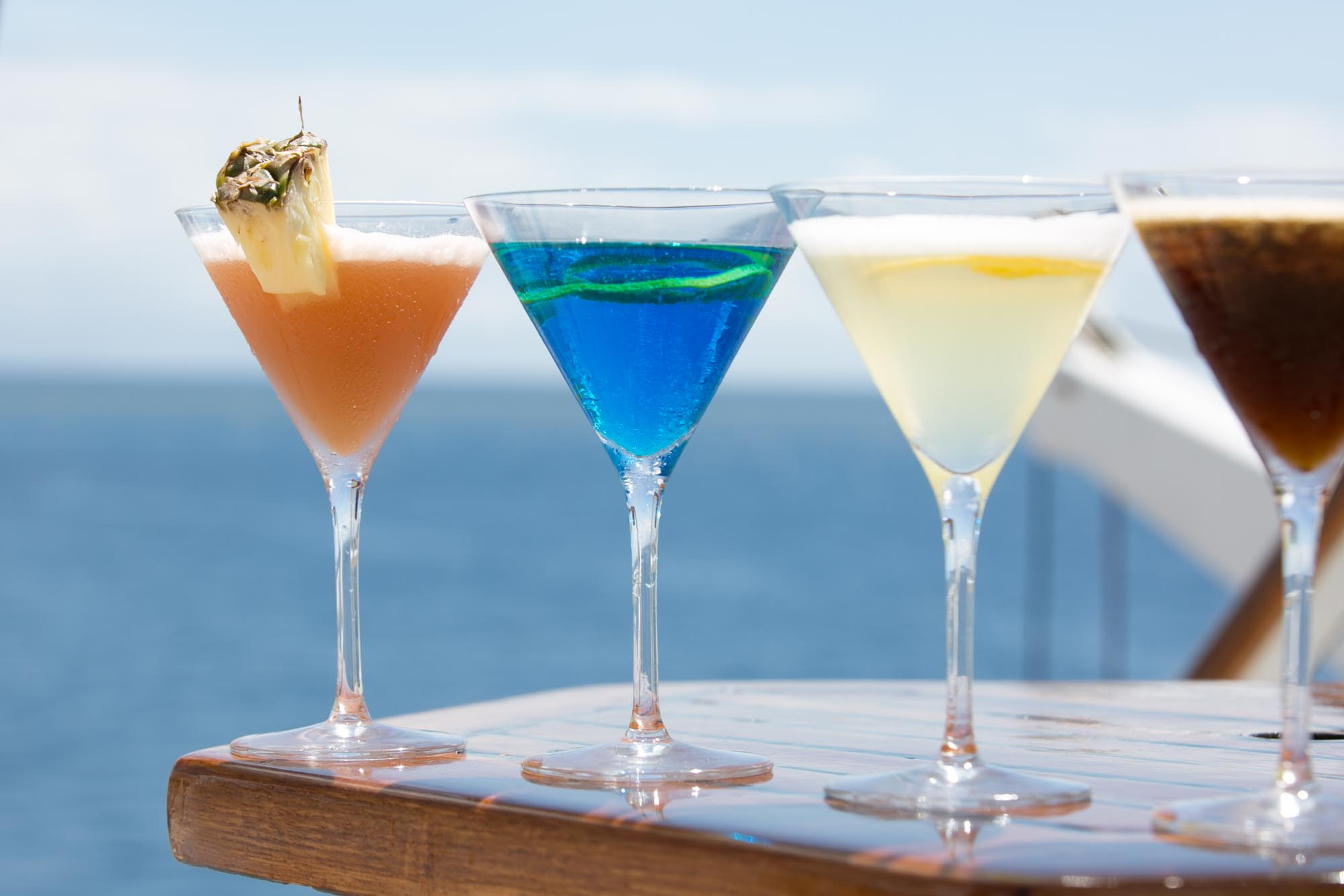 Wind Surf cocktails