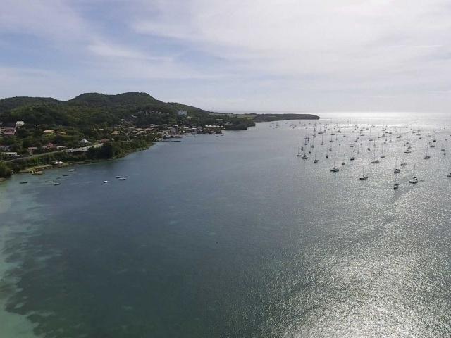 Le Marin landscape (drone shot)