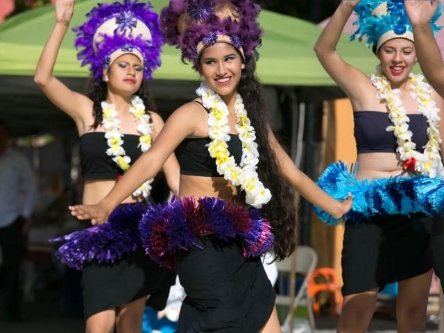 Dancers in Loreto