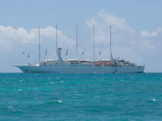 Wind Surf in Barbuda