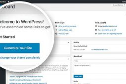 How to change fonts in a WordPress dashboard