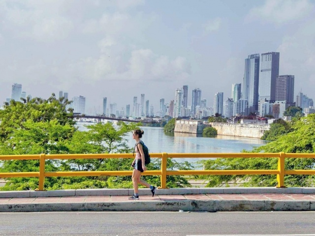 Cartagena overpass
