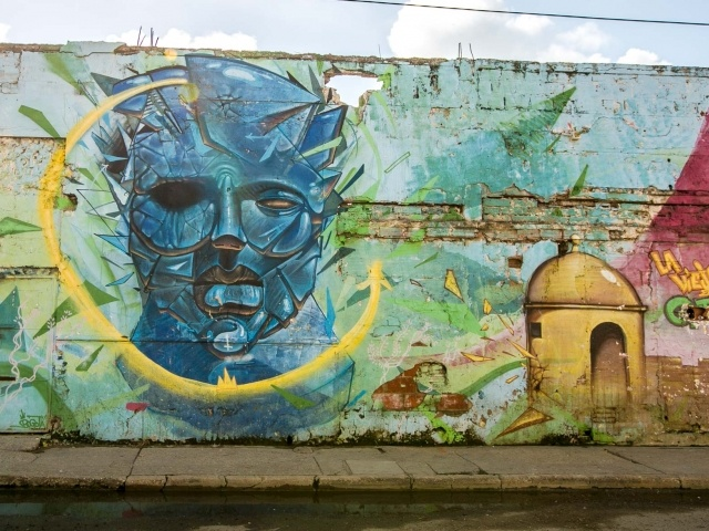 Cartagena wall mural