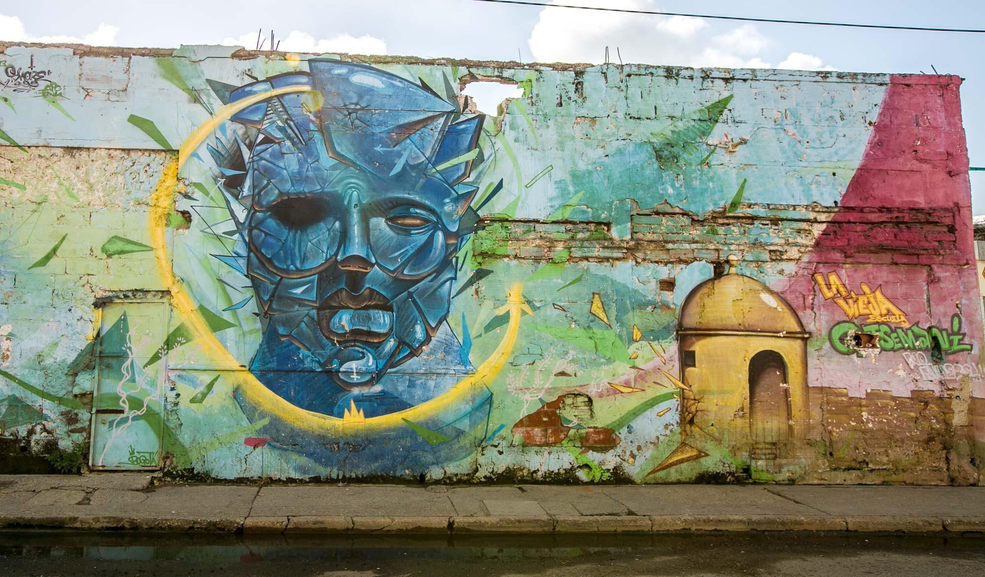 Cartagena wall mural