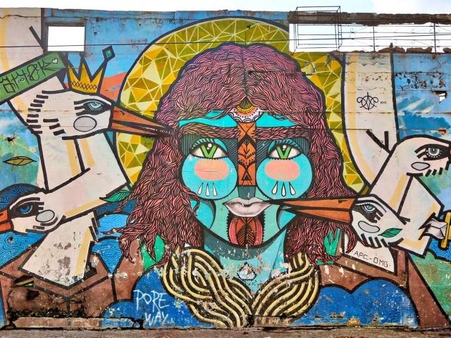 Cartagena street mural