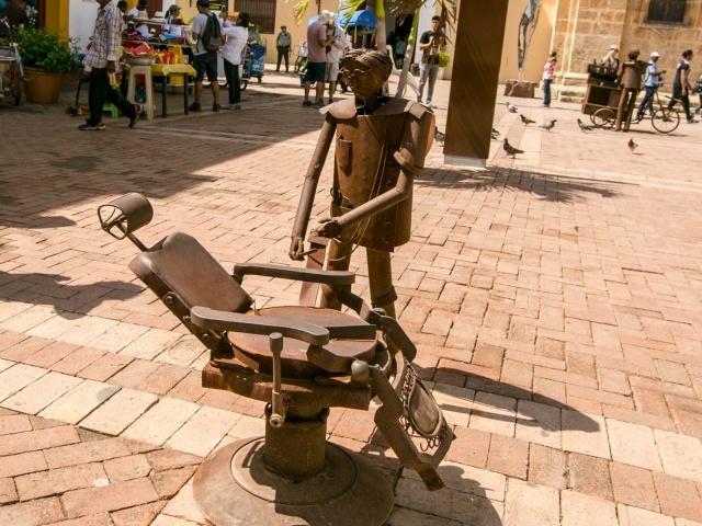 Dental art in Old Cartagena