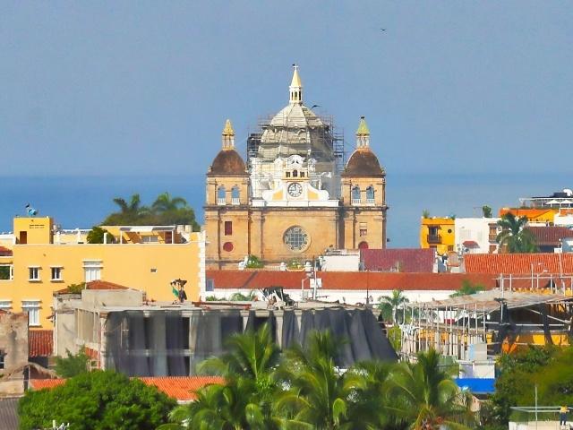 Old Cartagena skyline detail