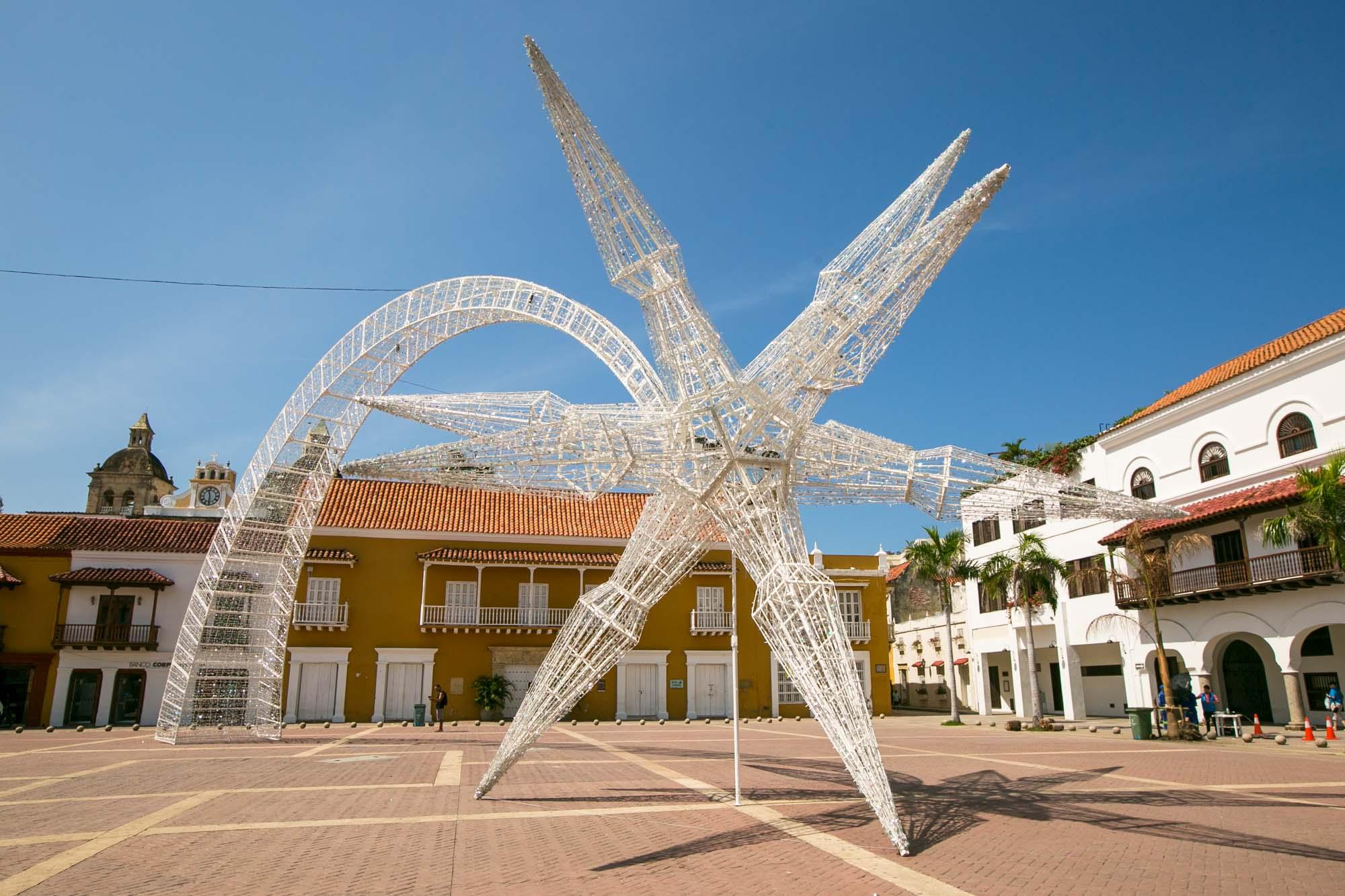 Public art in Cartagena