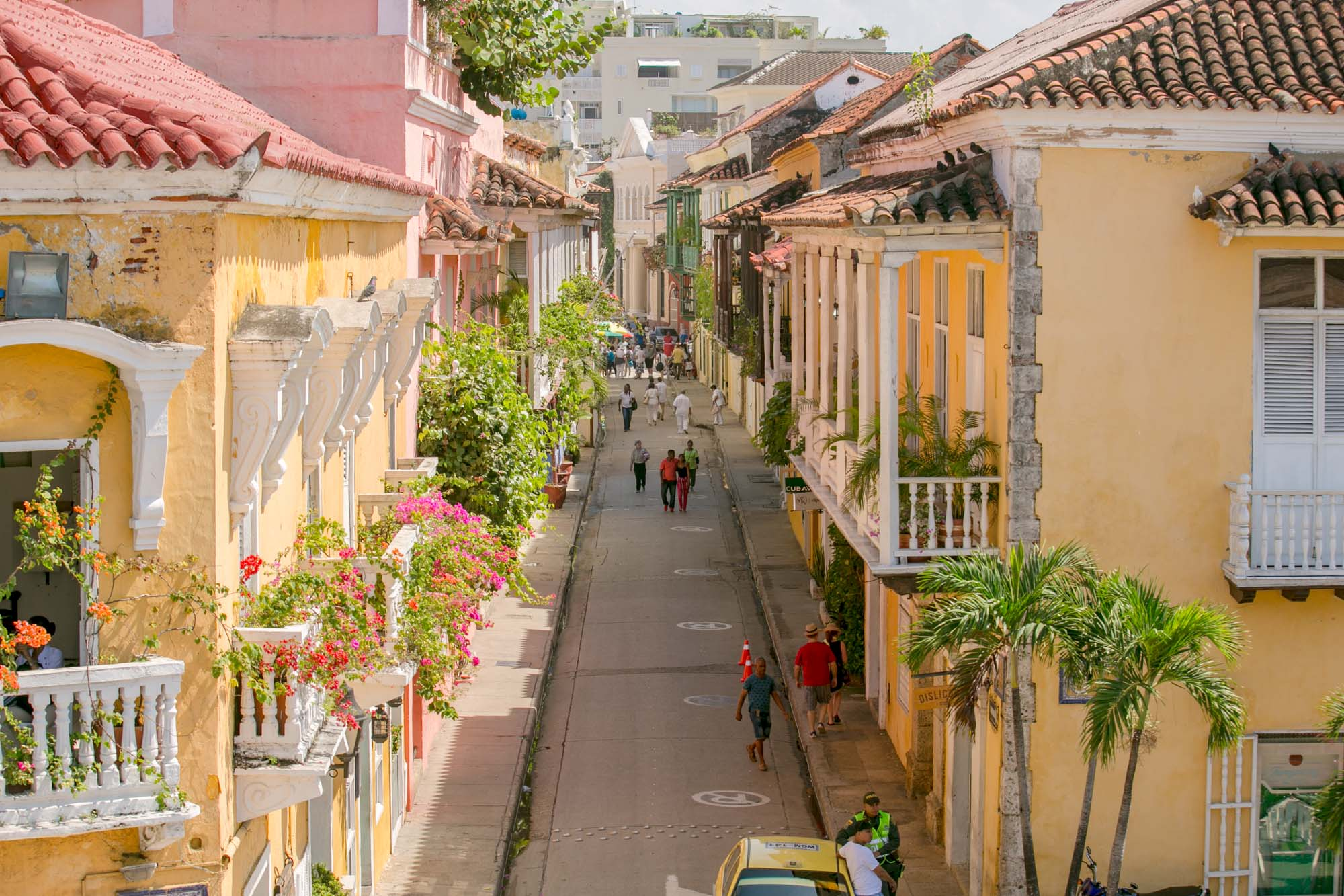 Old Cartagena street