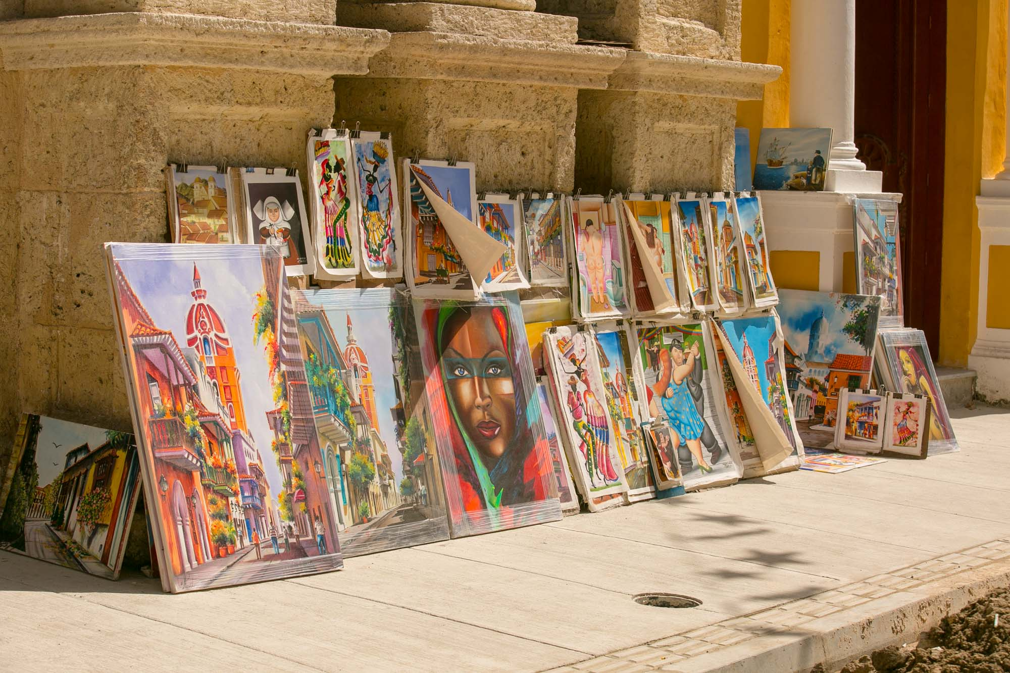 Cartagena art for sale