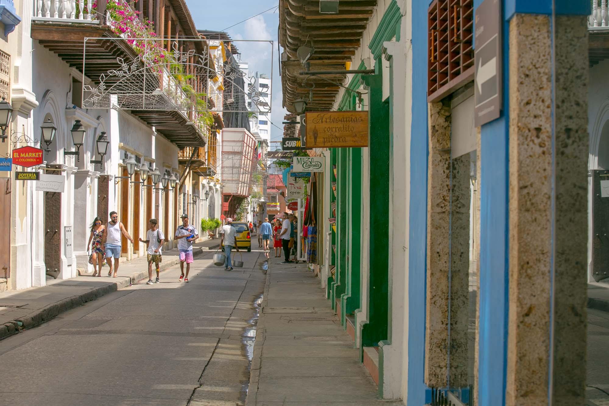 Cartagena artisans shops