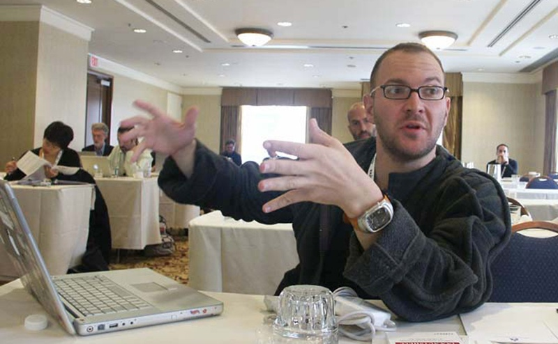 cory doctorow in 2004