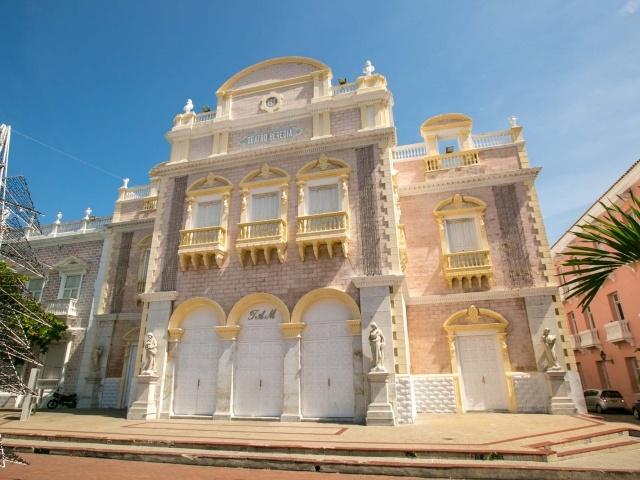 Teatro Heredia in Old Cartagena