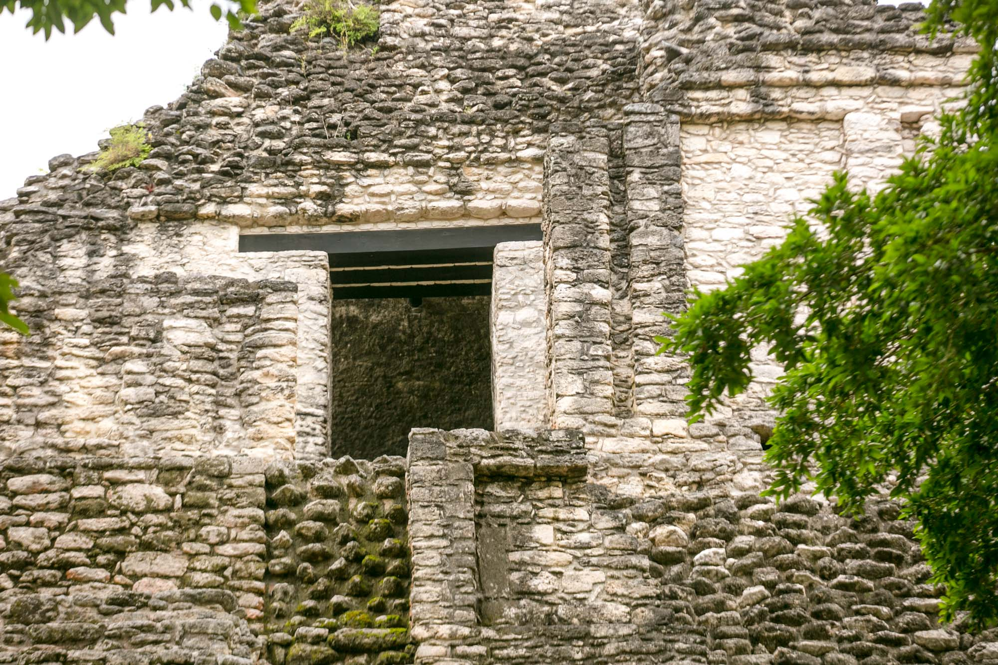 Part of the Mayan ruins of Dzibanche in Mexico