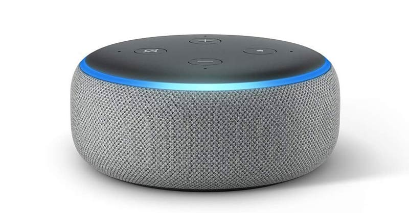 Amazon Echo Dot promises not to spy on you.