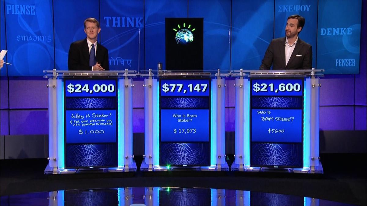 IBM Watson appeared on Jeopardy in 2011, winning the first place prize of $1 million.